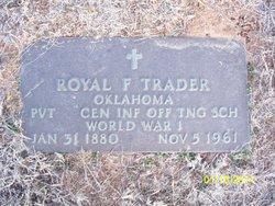 Pvt Royal F. Trader