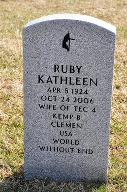 Ruby Kathleen Clemen