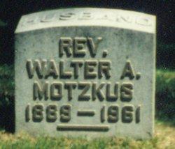 Rev Walter Arthur Walt Motzkus