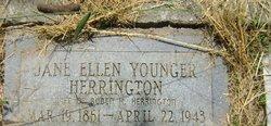 Jane Ellen <i>Younger</i> Herrington