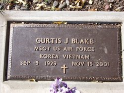 MSGT Curtis Joseph Blake