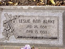 Leslie Ann Blake