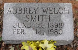Aubrey Gertrude <i>Gillmore</i> Welch Smith