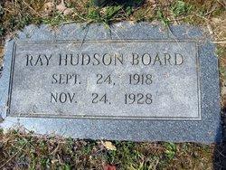 Ray Hudson Board