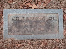 Albion Robertson Agee