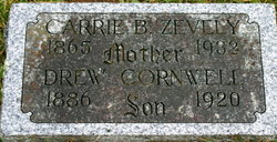 Carrie Gertrude <i>Burks</i> Zevely