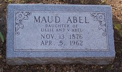 Maud Vivian Abel