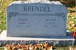 A Elsie <i>Wolf</i> Brendel