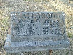 Anna <i>Hall</i> Allgood