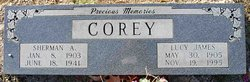 Lucy <i>James</i> Corey