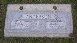 Jewell Ethel <i>Thompson</i> Anderson