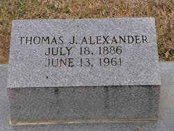 Thomas J Alexander