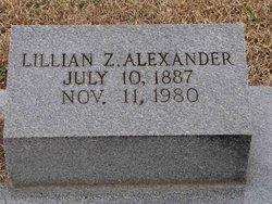 Lillian Zeola <i>Wright</i> Alexander