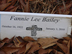 Fannie Lee Bailey