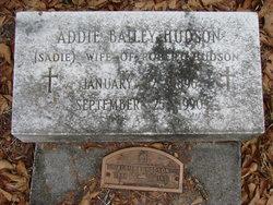 Addie Sadie <i>Hudson</i> Hudson