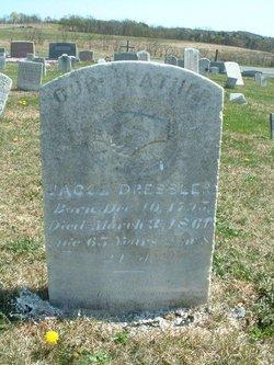 Jacob G Dressler, Sr