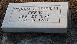 Medora E Effie Bennett