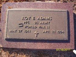 Roy Elvin Adams