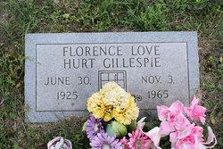 Florence Love <i>Hurt</i> Gillespie