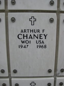 Arthur Fletcher Chaney