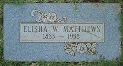 Elisha Weldon Matthews