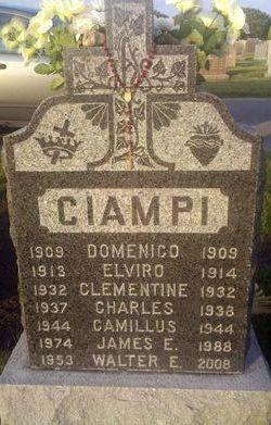 Walter Eugene Ciampi