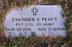 Evander Eugene Peavy