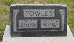 Martha Eleanor <i>Vance</i> Fowles
