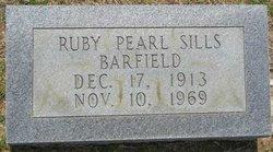 Ruby Pearl <i>Sills</i> Barfield