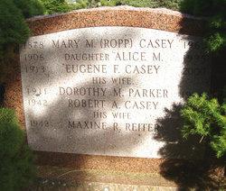 Maxine R <i>Reiter</i> Casey