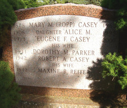 Mary M <i>Ropp</i> Casey