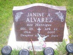 Janine A <i>Herriges</i> Alvarez