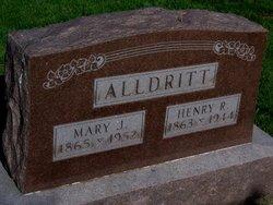 Mary J. <i>Pearson</i> Alldritt