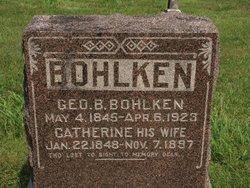 George B Bohlken