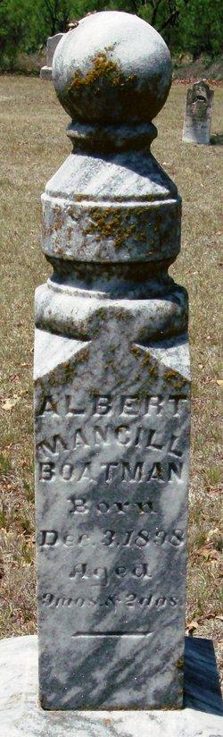 Albert Mancill Boatman