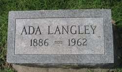 Ada May <i>Hildebrand</i> Langley