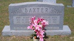 Beulah <i>Riser</i> Baxter