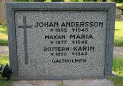 Ada Maria <i>Johansdotter</i> Andersson