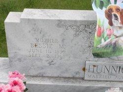 Bessie M <i>Detamore</i> Hunnicutt