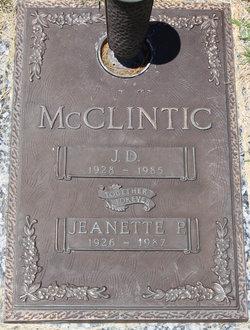 Jeanette Masters McClintic