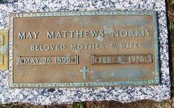Scythia May May <i>Matthews</i> Norris