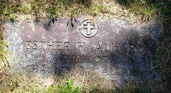 Ester H. <i>Harris</i> Allard
