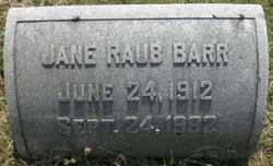 Jane Kissel <i>Raub</i> Barr