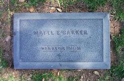 Mabel E Barker