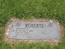 Annette R Roberts