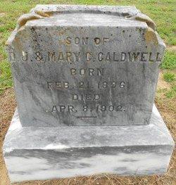 Alexander F Caldwell