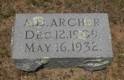 Almer Dwight Archer