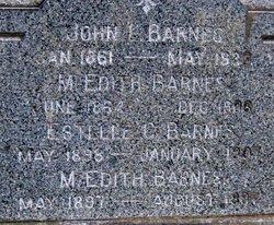 Estelle C Barnes