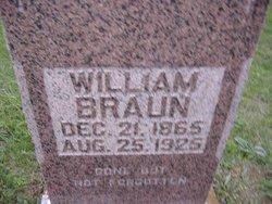 Wilhelm William Braun