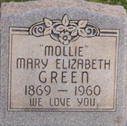 Mary Elizabeth Mollie <i>Bowers</i> Green